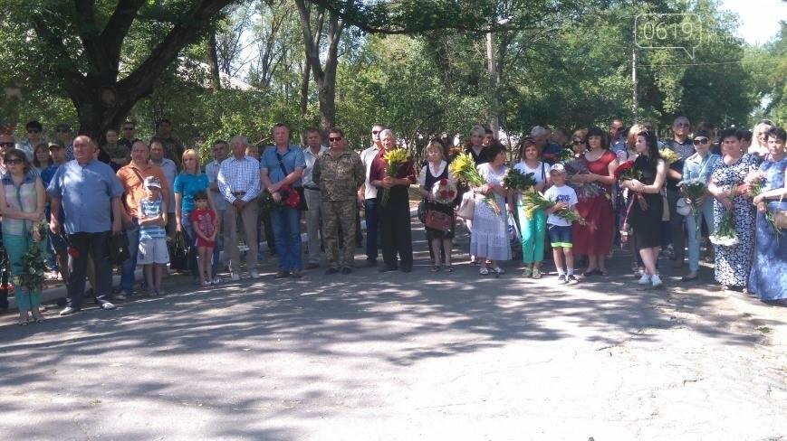 В Мелитополе почтили память погибшего экипажа , фото-3