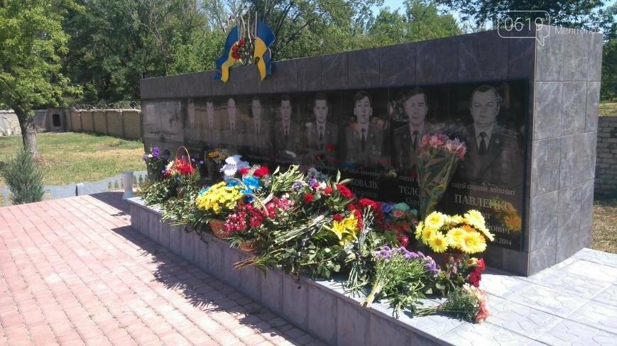 В Мелитополе почтили память погибшего экипажа , фото-7
