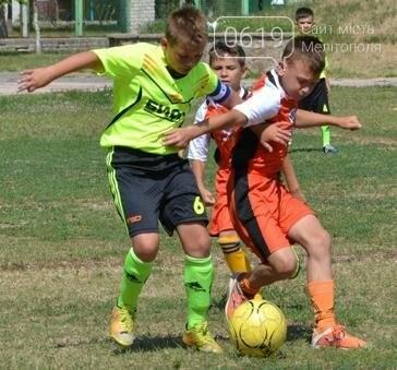 Юные мелитопольцы - лидеры футбольного турнира, фото-1