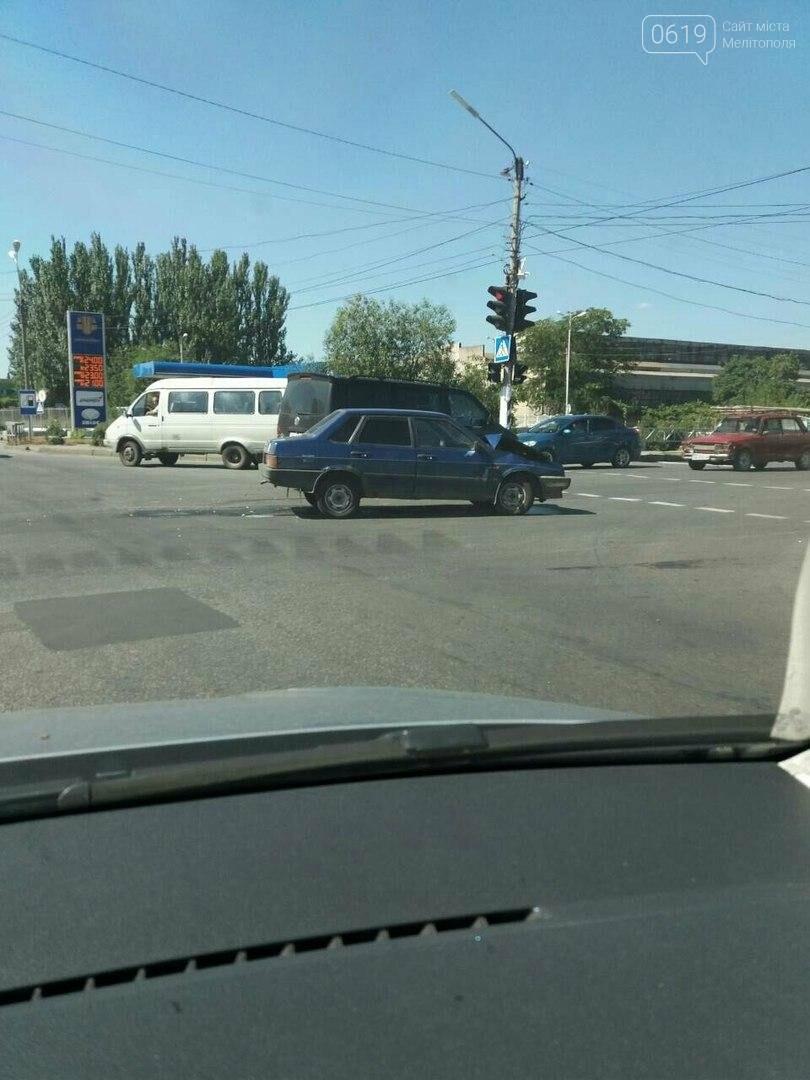 Из-за ДТП на дороге образовалась пробка , фото-1, Фото 0619