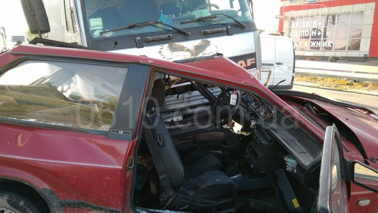 Водитель восьмерки чудом остался жив (фото), фото-2, Фото сайта 0619