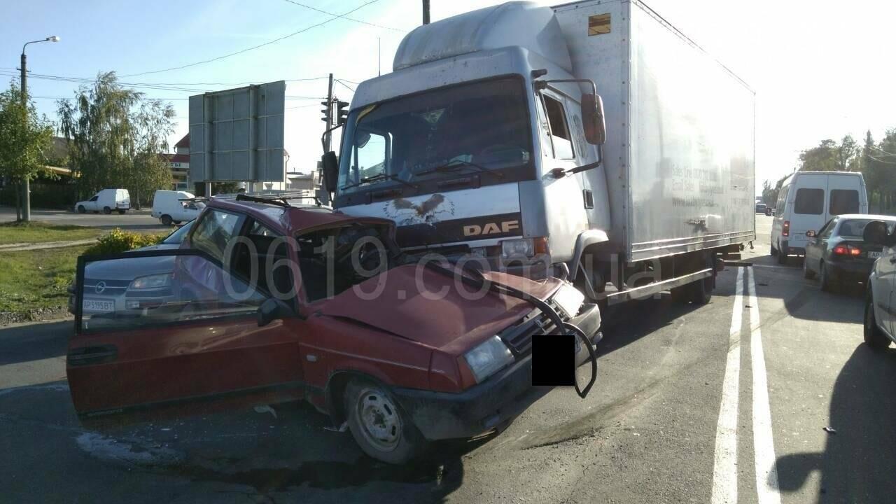 Водитель восьмерки чудом остался жив (фото), фото-5, Фото сайта 0619