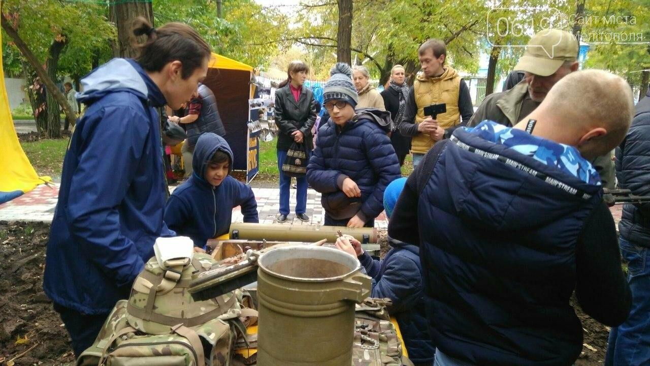 В Мелитополе отметили День защитника Украины. Фоторепортаж, фото-12