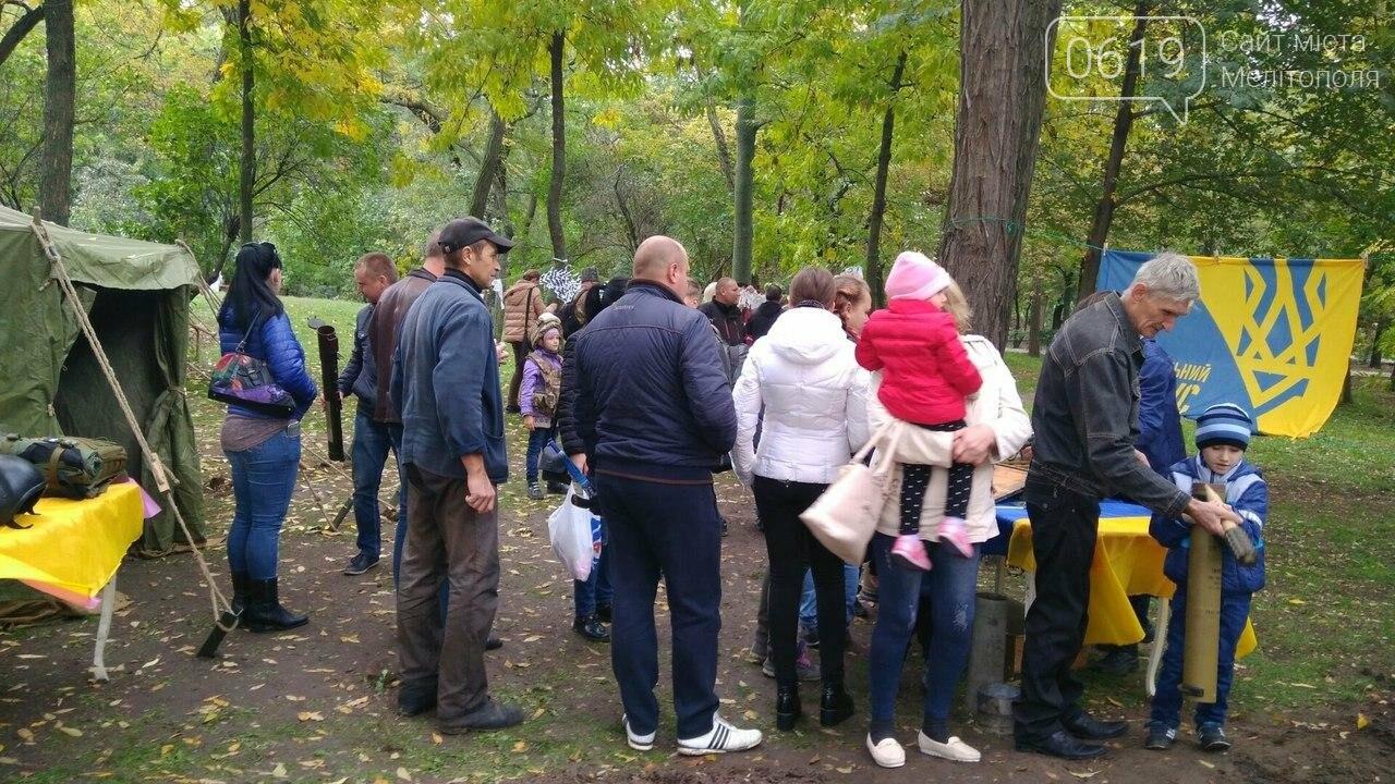 В Мелитополе отметили День защитника Украины. Фоторепортаж, фото-14