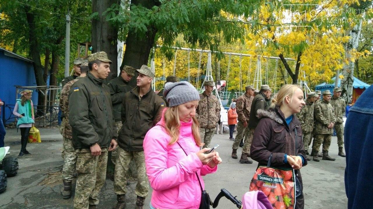 В Мелитополе отметили День защитника Украины. Фоторепортаж, фото-6