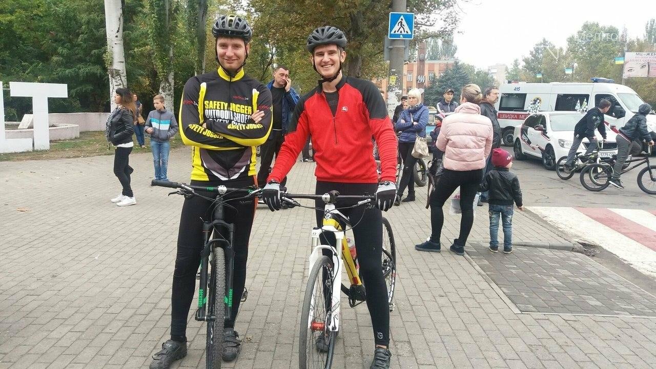 В Мелитополе состоялся чемпионат по шоссейно-кольцевой велогонке на выбывание. Фоторепортаж , фото-3