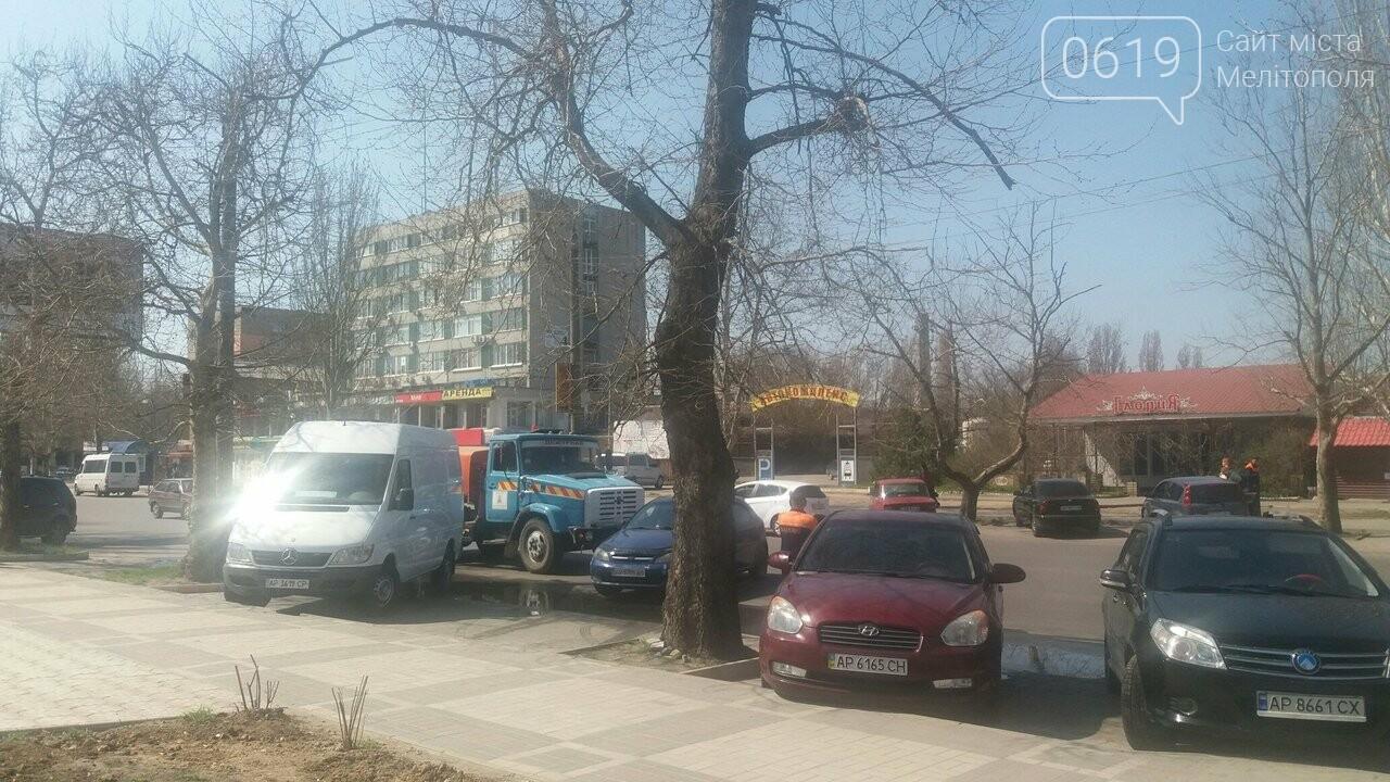 """Сотрудники КП """"Водоканал"""" оперативно устраняют последствия засора трубы, фото-1"""