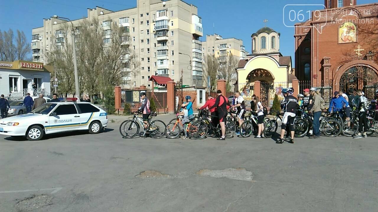 День здоровья мелитопольцы отметили масштабным велопробегом, фото-3
