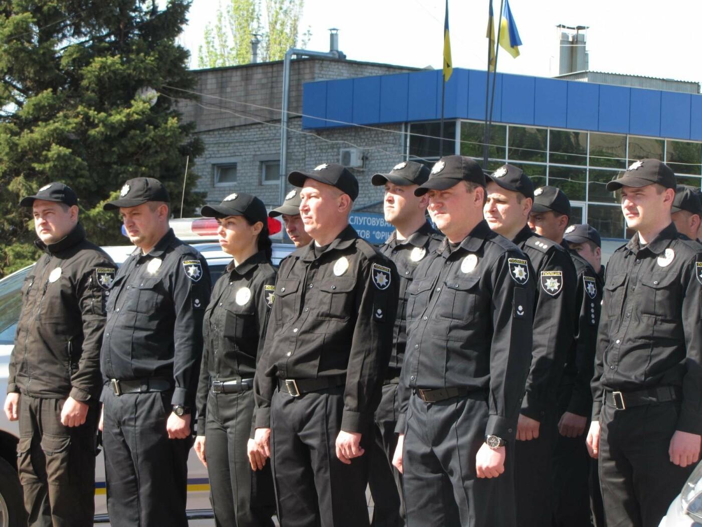 Мелитопольской полиции торжественно вручили новые служебные автомобили, фото-4