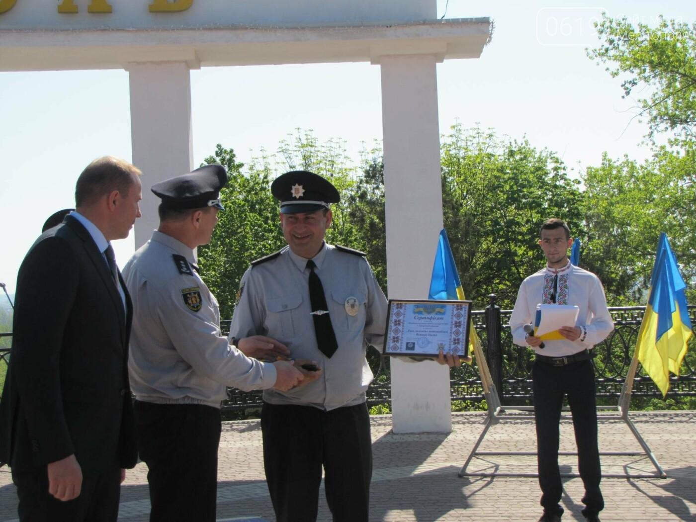 Мелитопольской полиции торжественно вручили новые служебные автомобили, фото-5
