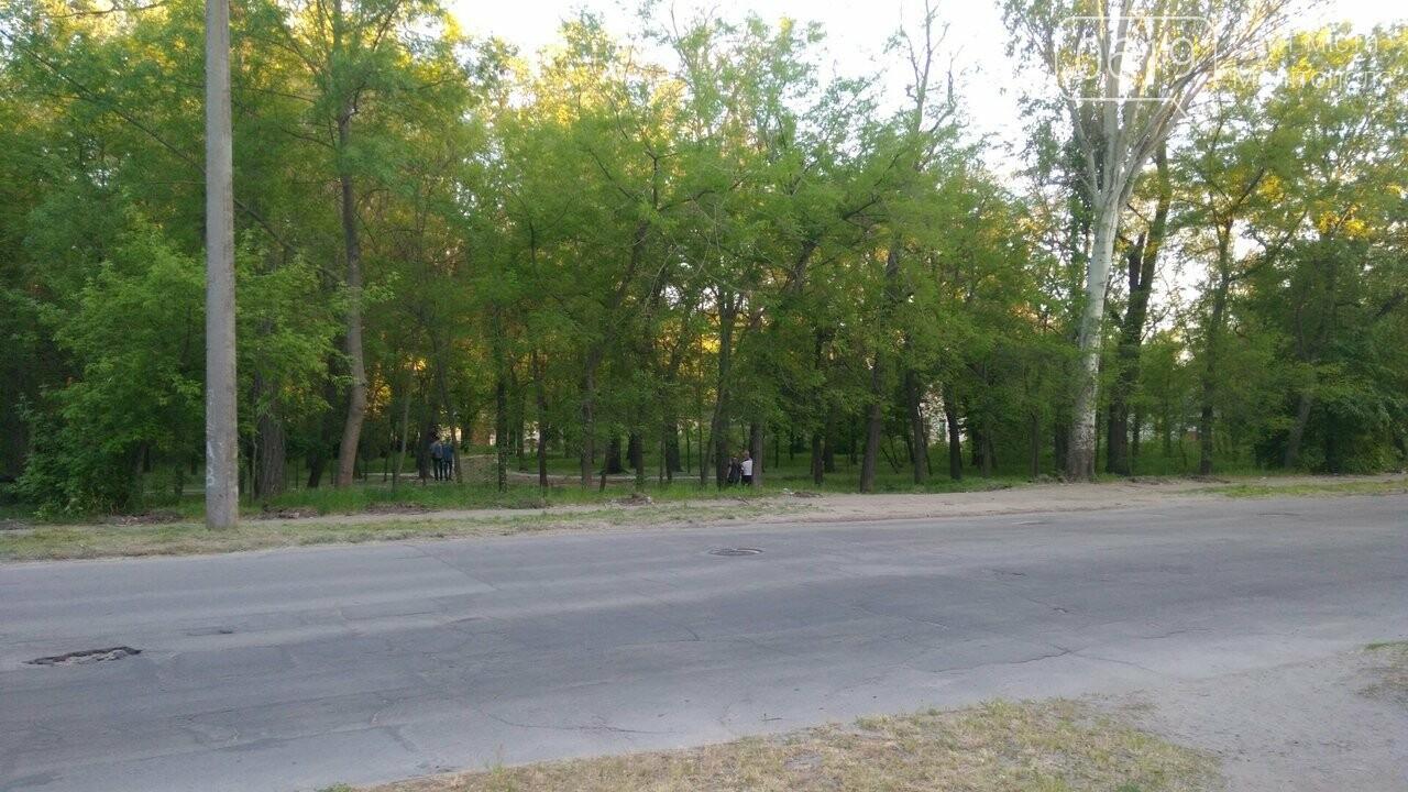 Старое ограждение парка демонтировали , фото-1, Фото сайта 0619