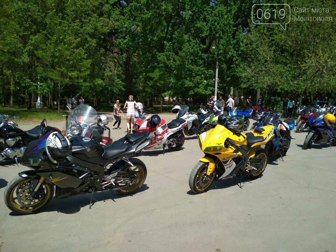 Мелитопольские байкеры открыли новый сезон мотопробегом, фото-1