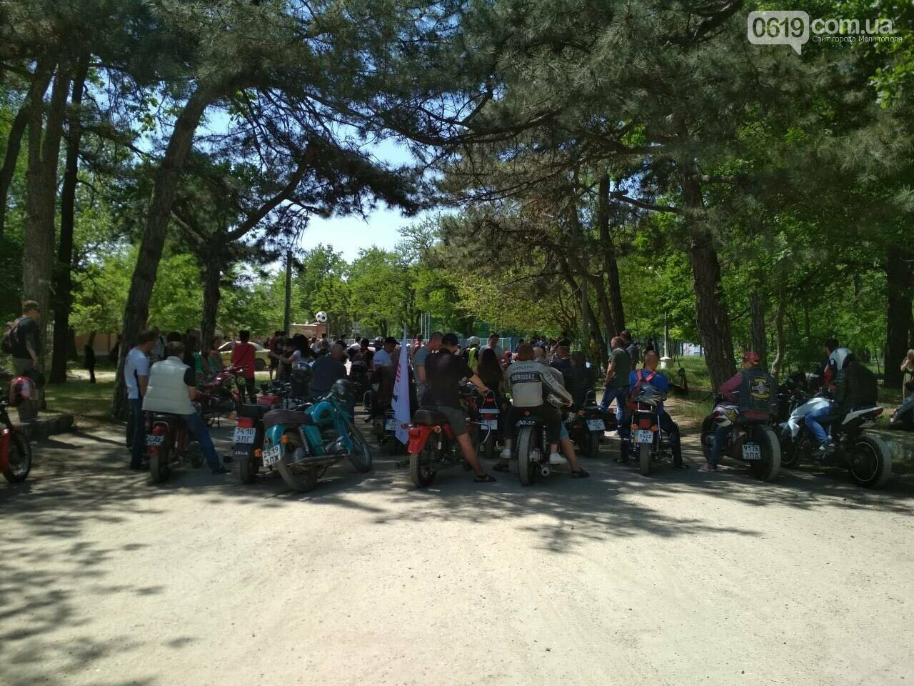 Мелитопольские байкеры открыли новый сезон мотопробегом, фото-4