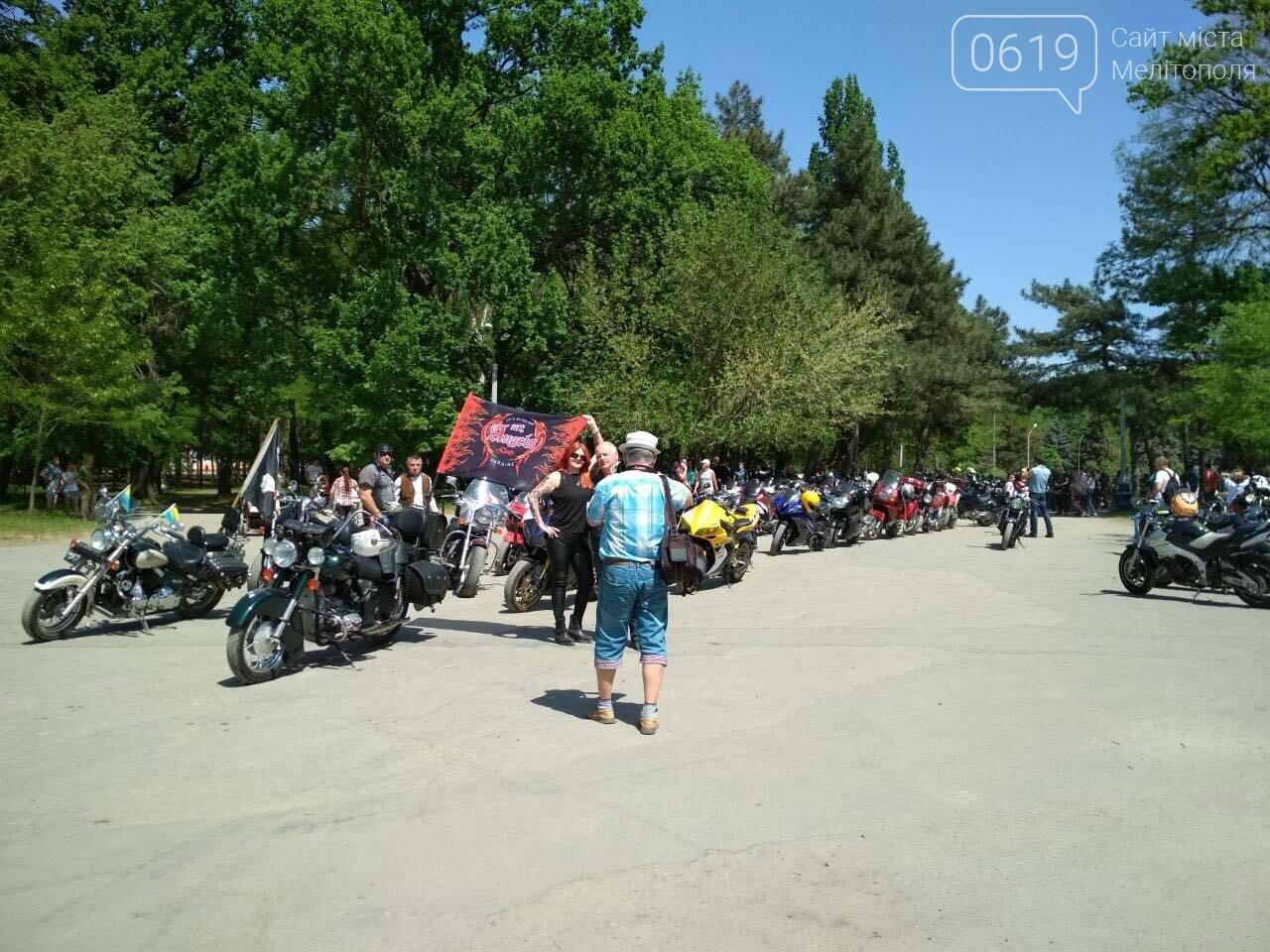 Мелитопольские байкеры открыли новый сезон мотопробегом, фото-2