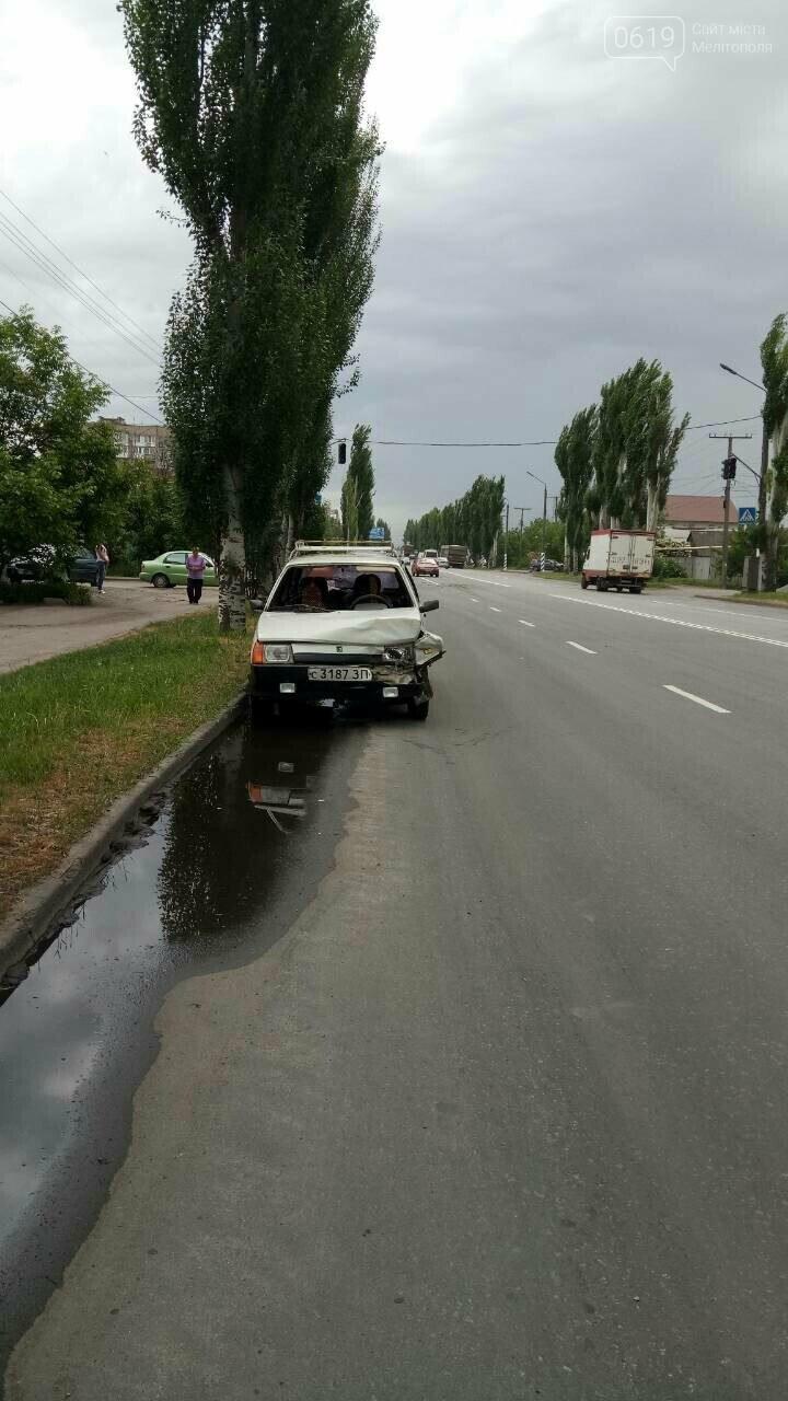 В Мелитополе произошло очередное ДТП, - ФОТО, фото-1