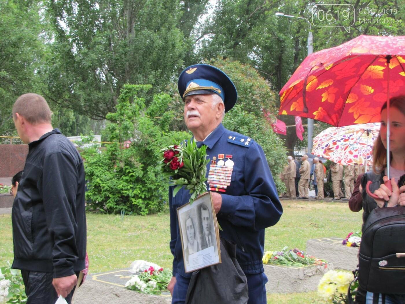 Мелитополь празднует День Победы - не обошлось без провокаторов, фото-3