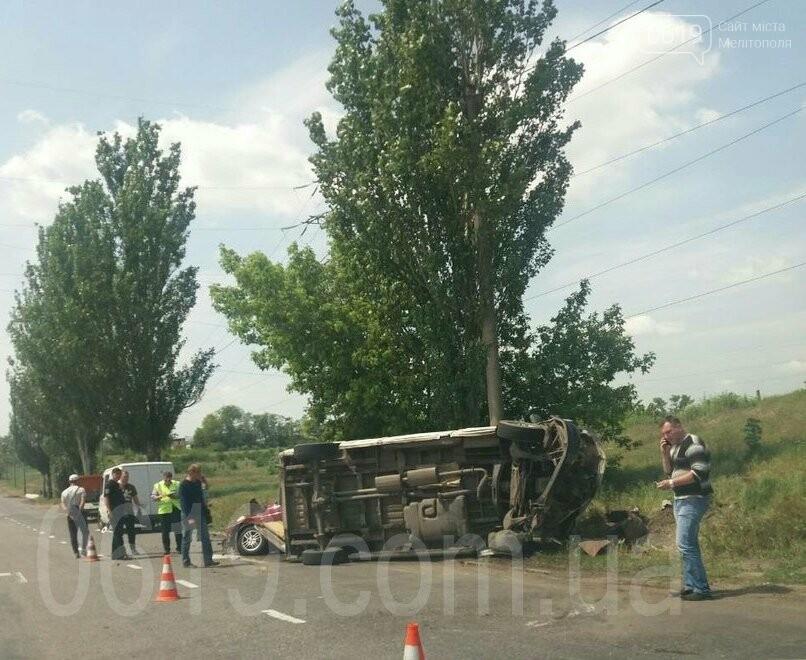 Появились первые подробности ДТП в Мелитополе: есть погибший и пострадавший, фото-1