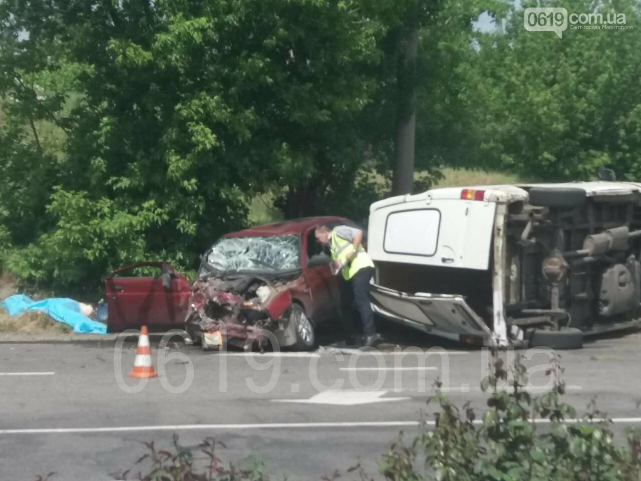 Появились первые подробности ДТП в Мелитополе: есть погибший и пострадавший, фото-2