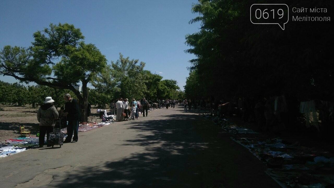 Мелитопольские торговцы устроили рынок в садах Филибера , фото-1, Фото сайта 0619