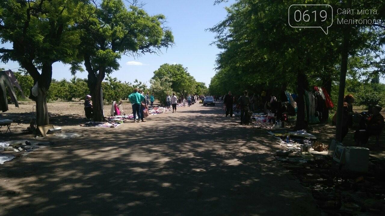 Мелитопольские торговцы устроили рынок в садах Филибера , фото-2, Фото сайта 0619