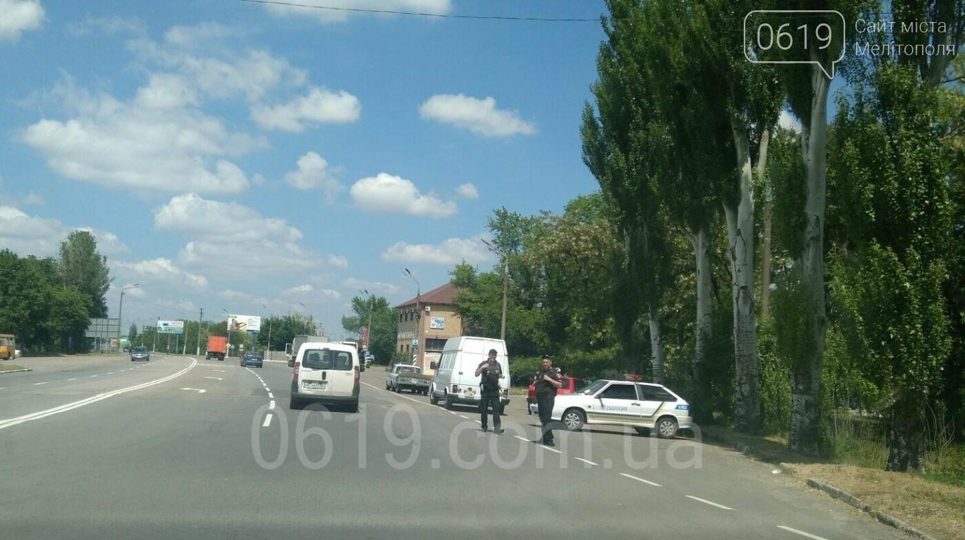 """""""Сирена"""" в области: в Мелитополе расставили блокпосты, фото-2"""
