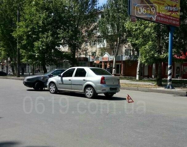 В Мелитополе столкнулись две иномарки, - ФОТО, фото-1