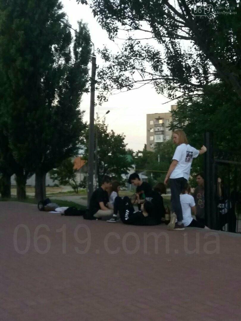 Мелитопольская молодежь превратила центр города в притон, - ФОТО, фото-5, Фото сайта 0619