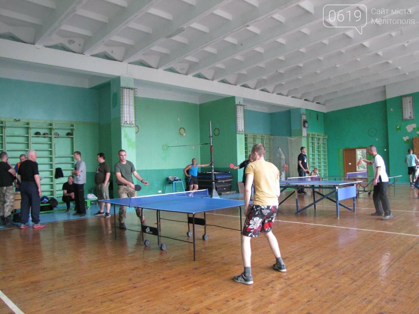 Несокрушимая воля к победе: в Мелитополе прошли соревнования для воинов АТО, фото-8