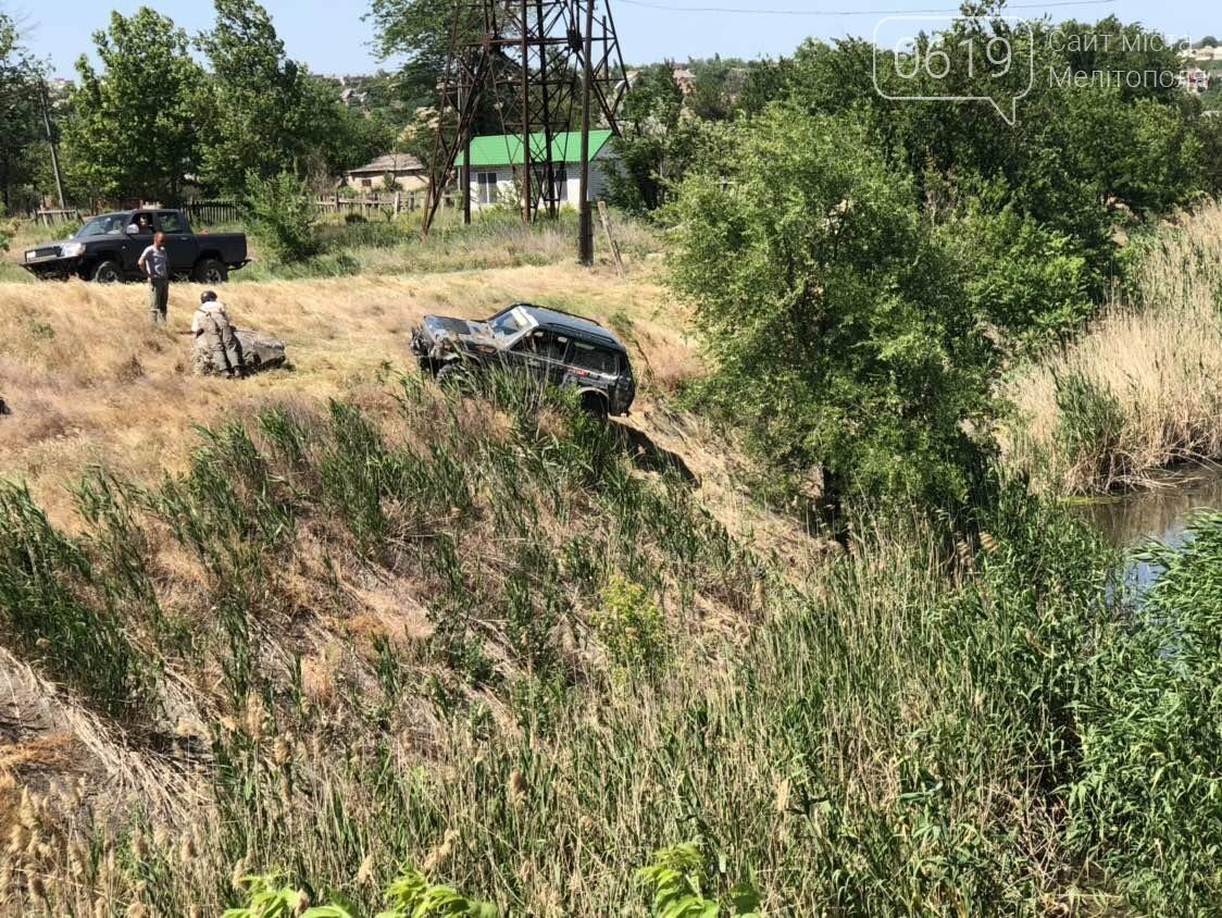 В Мелитополе гонщик чуть не упал в реку, - ФОТО, фото-5