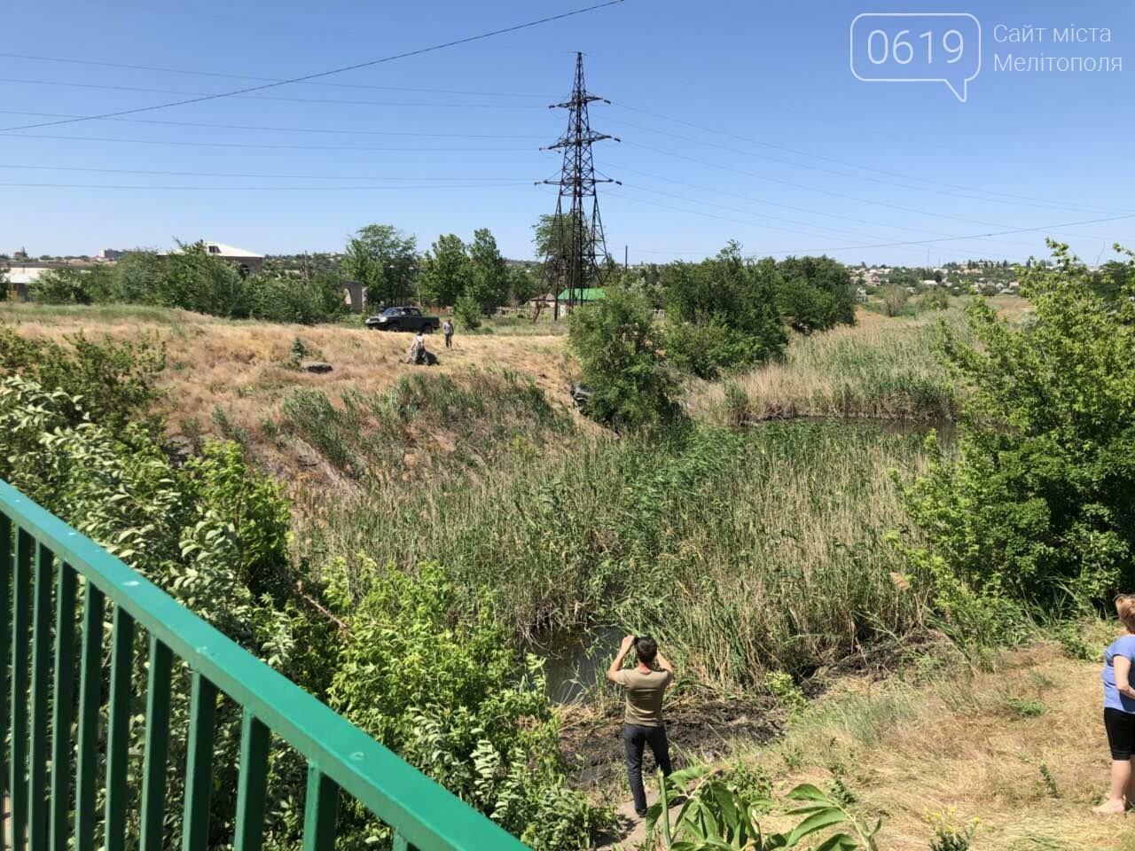 В Мелитополе гонщик чуть не упал в реку, - ФОТО, фото-2