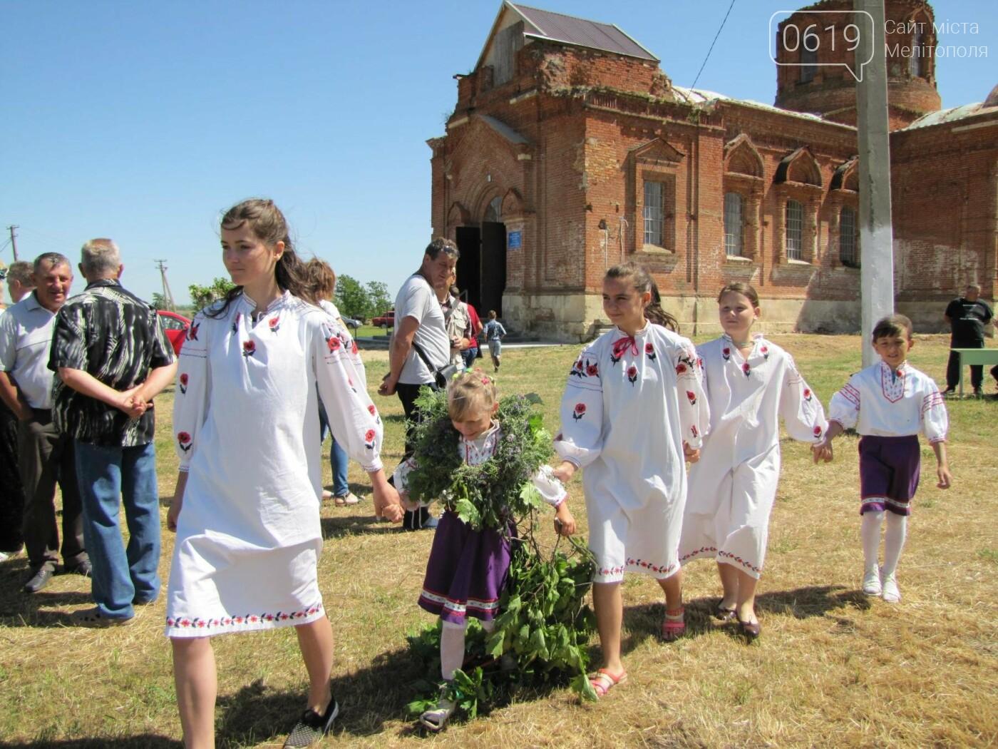 Жители Мелитопольщины отпраздновали Троицу, фото-5