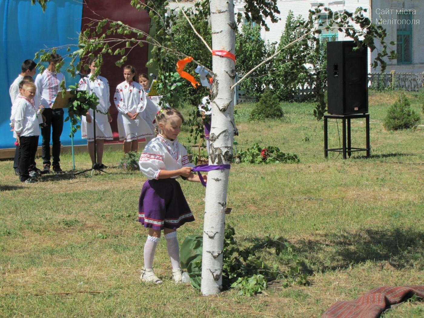 Жители Мелитопольщины отпраздновали Троицу, фото-12