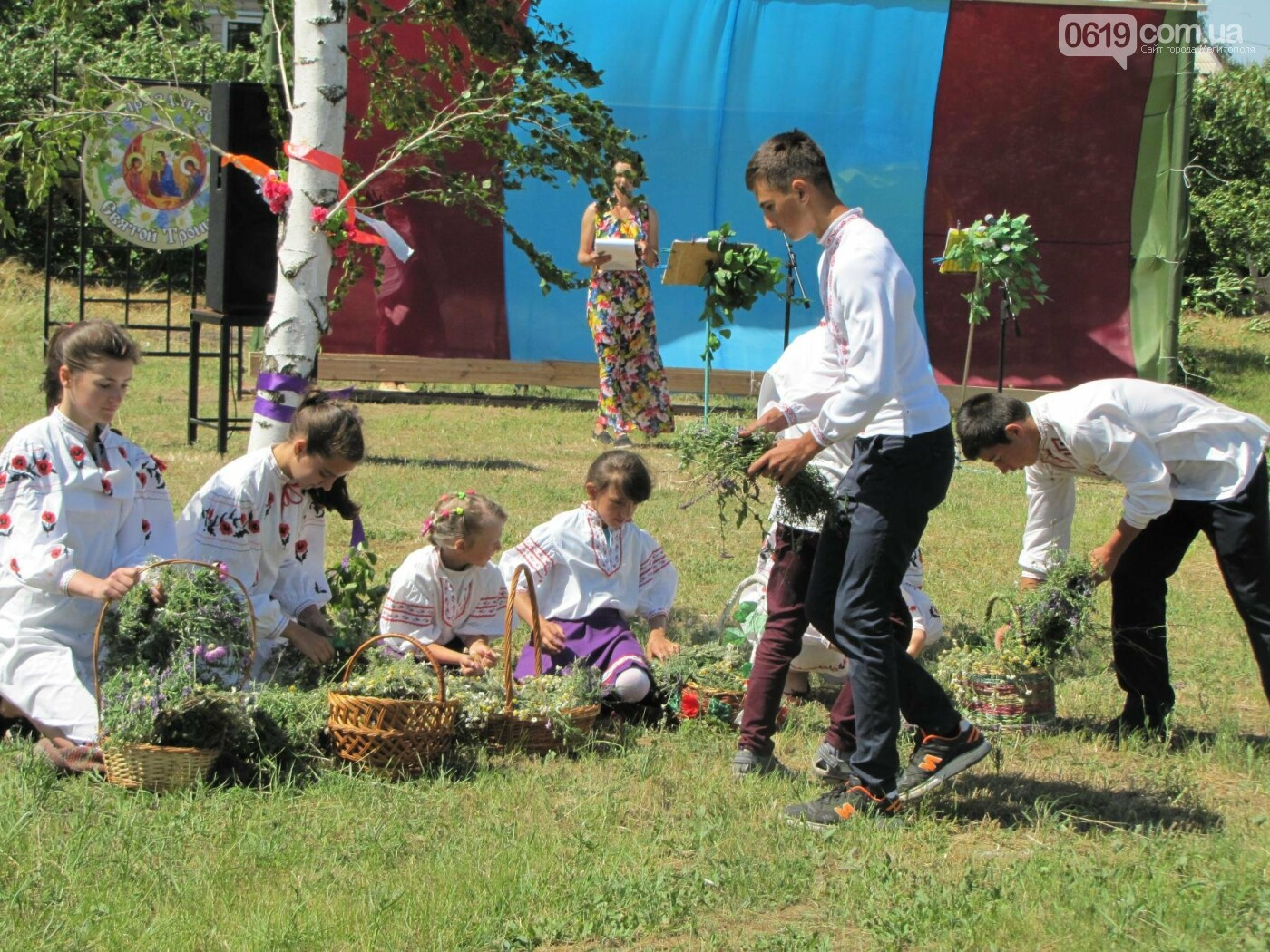 Жители Мелитопольщины отпраздновали Троицу, фото-9