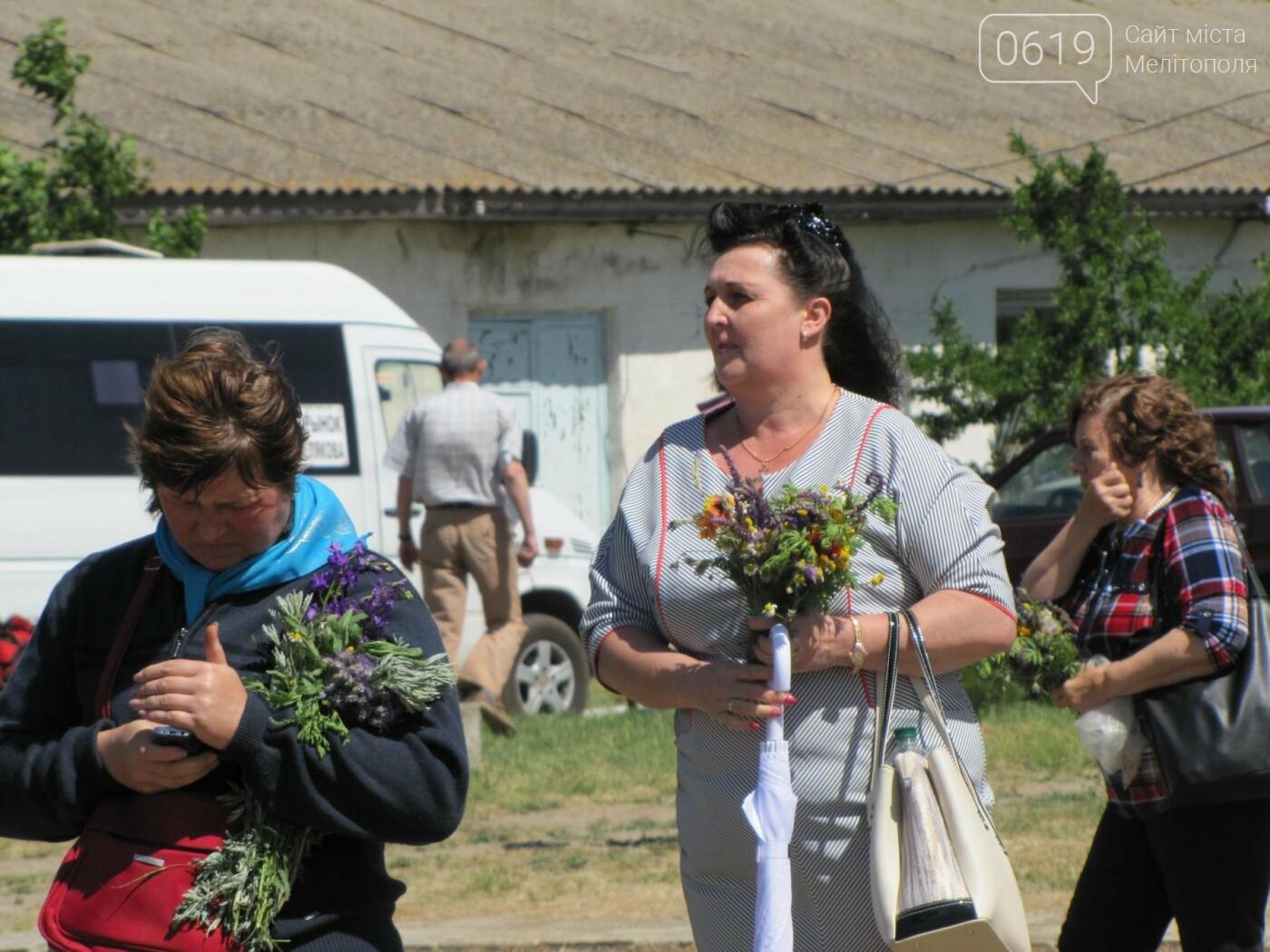 Жители Мелитопольщины отпраздновали Троицу, фото-6