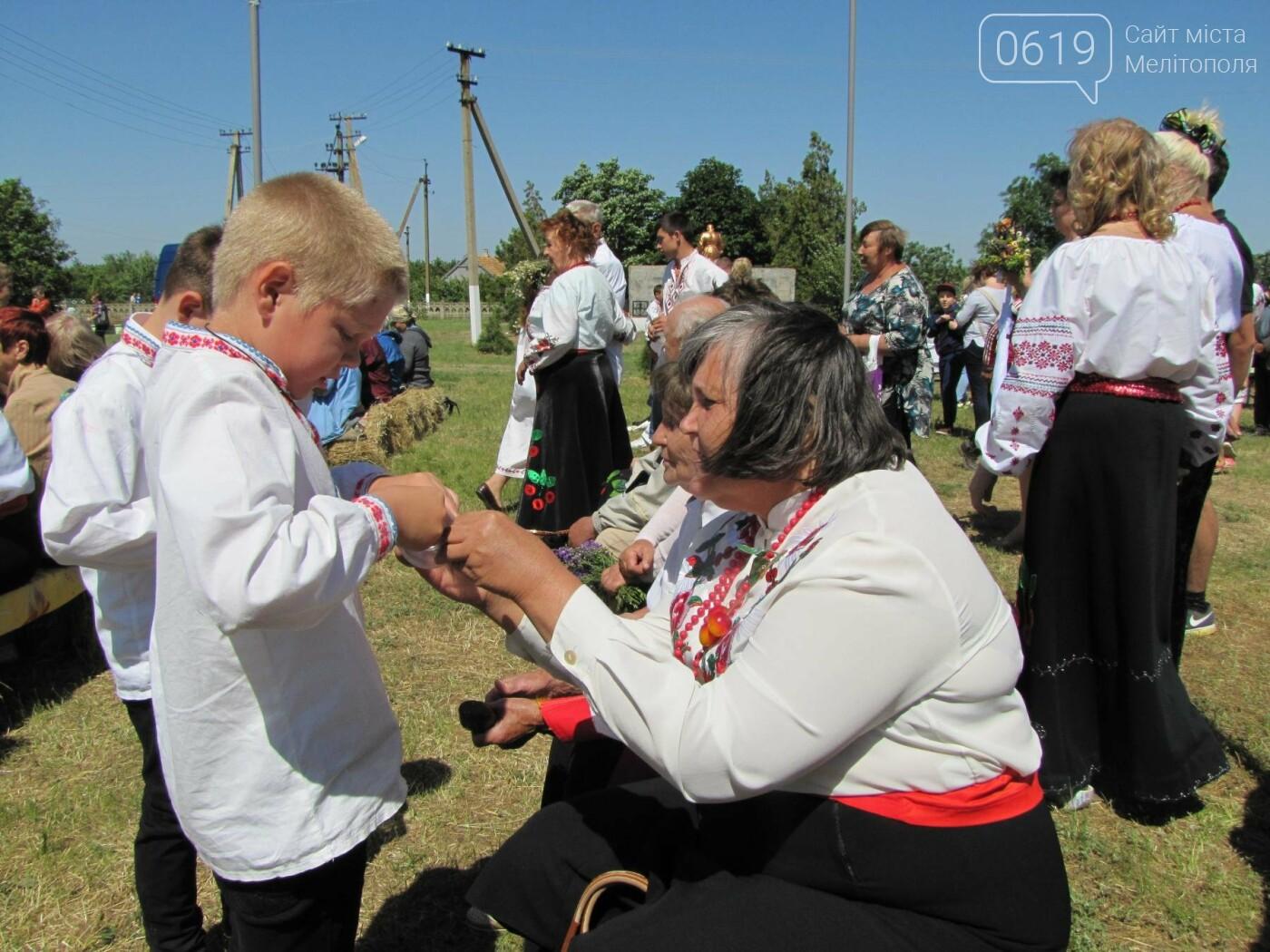 Жители Мелитопольщины отпраздновали Троицу, фото-16