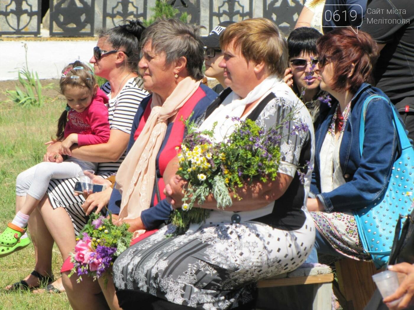 Жители Мелитопольщины отпраздновали Троицу, фото-15