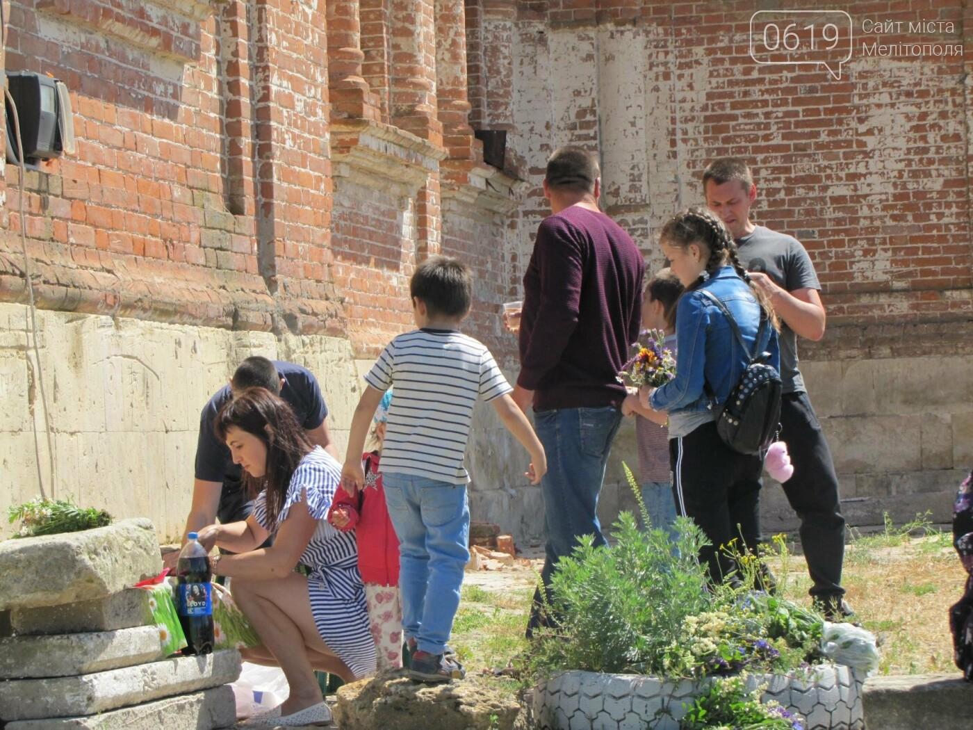 Жители Мелитопольщины отпраздновали Троицу, фото-4