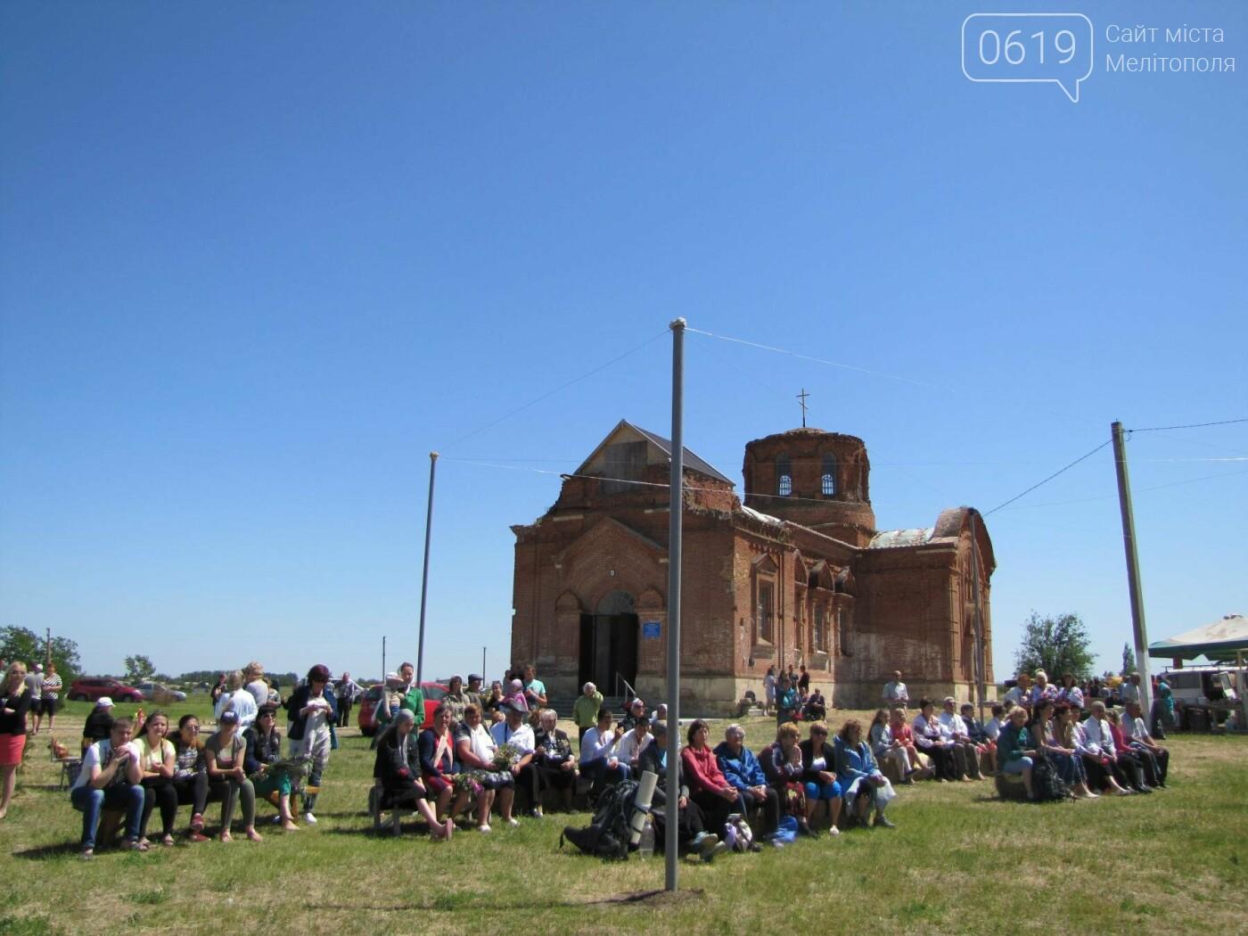 Жители Мелитопольщины отпраздновали Троицу, фото-18