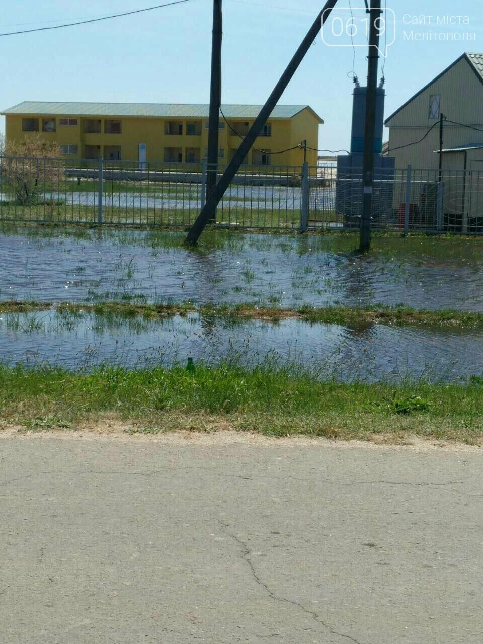 Морская вода, которая затопила Кирилловку, отступает , фото-3, Фото сайта 0619