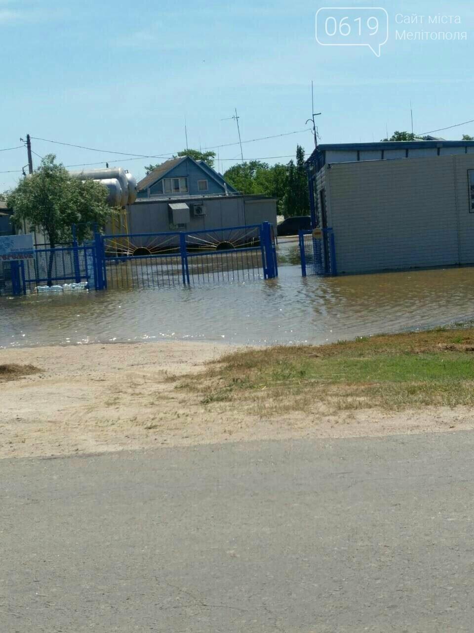 Морская вода, которая затопила Кирилловку, отступает , фото-1, Фото сайта 0619