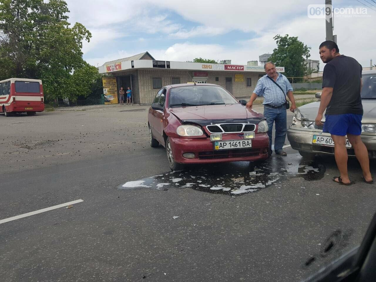 В Мелитополе столкнулись два автомобиля, фото-1, Фото сайта 0619