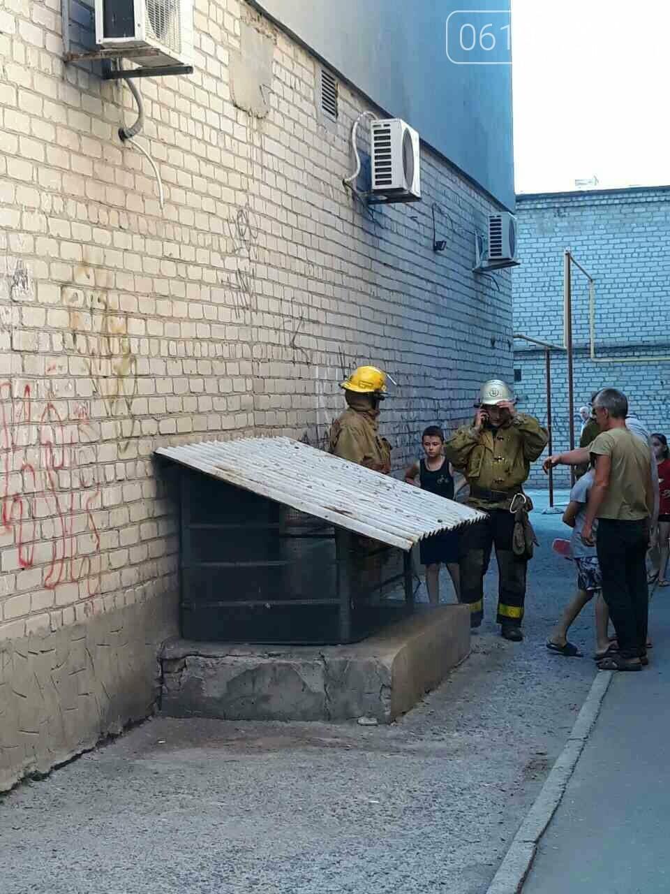 Мелитопольские спасатели потушили пожар в подвале многоэтажки, - ФОТО , фото-5