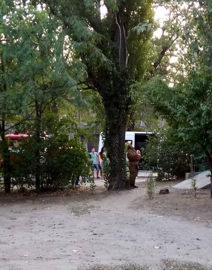 В Мелитополе горела квартира, фото-3, Фото сайта 0619