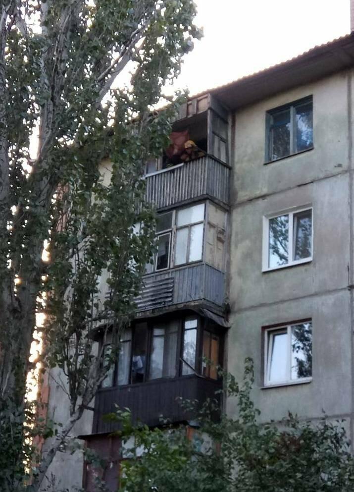 В Мелитополе горела квартира, фото-2, Фото сайта 0619