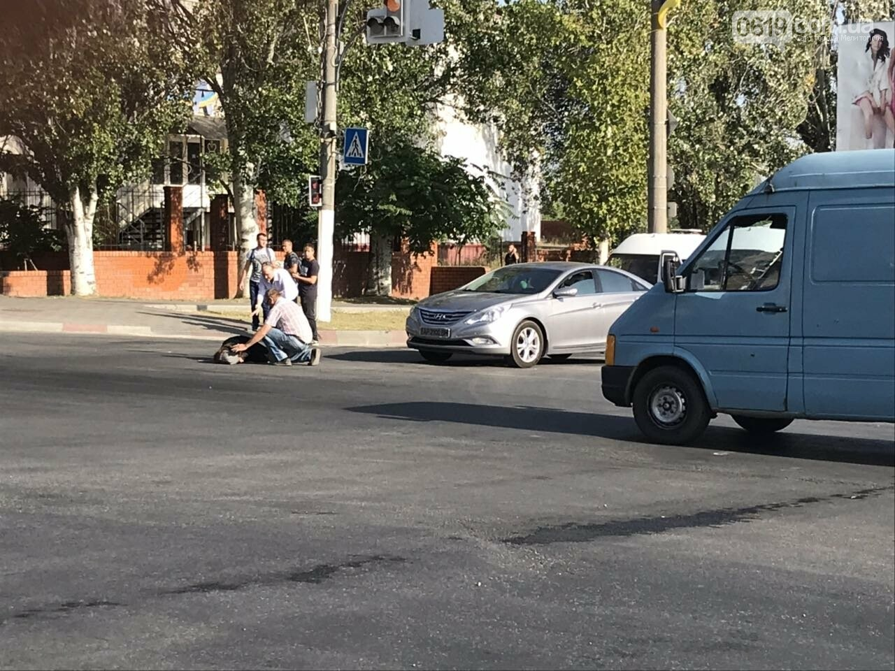 В Мелитополе на пешеходном переходе сбили девушку, - ФОТО, фото-5, Фото сайта 0619