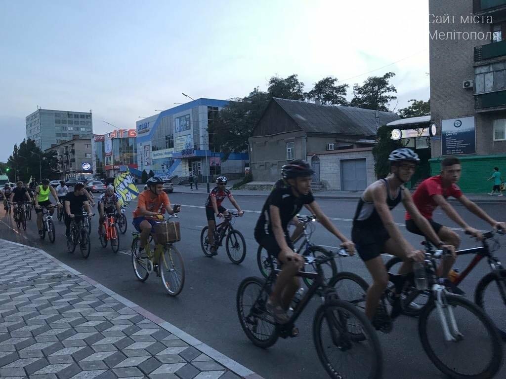 В Мелитополе состоялся необычный велопробег, фото-2
