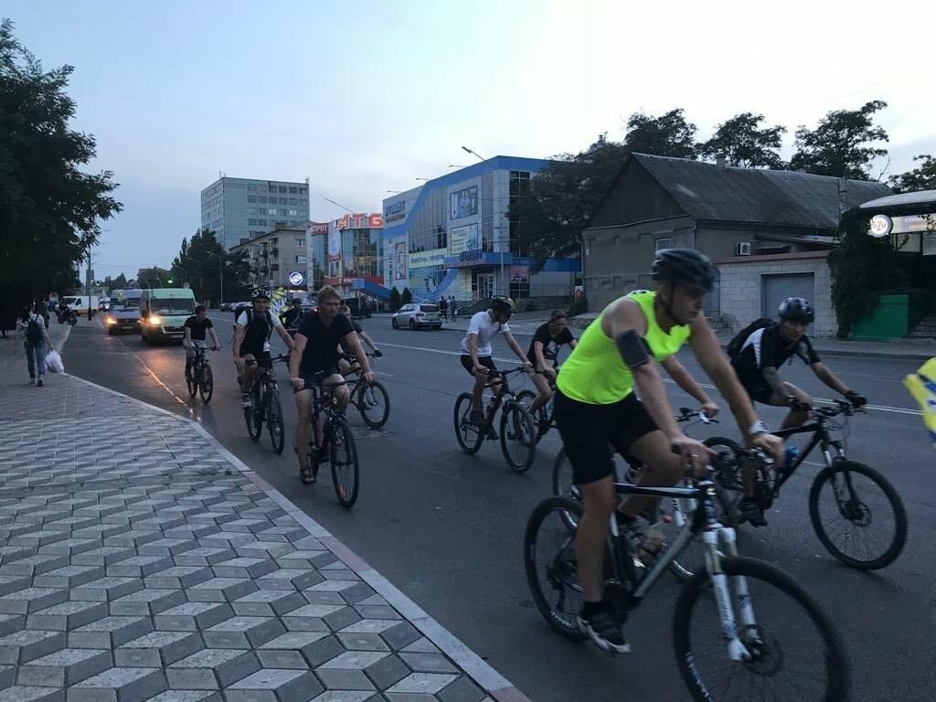 В Мелитополе состоялся необычный велопробег, фото-6