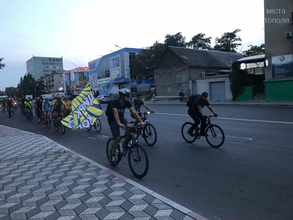 В Мелитополе состоялся необычный велопробег, фото-8