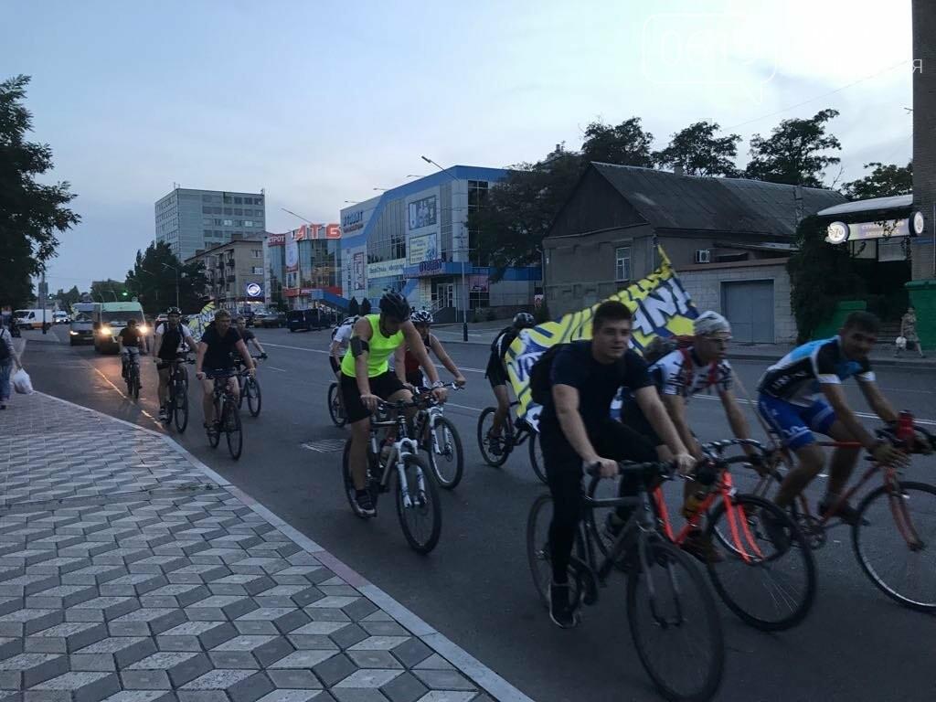 В Мелитополе состоялся необычный велопробег, фото-9