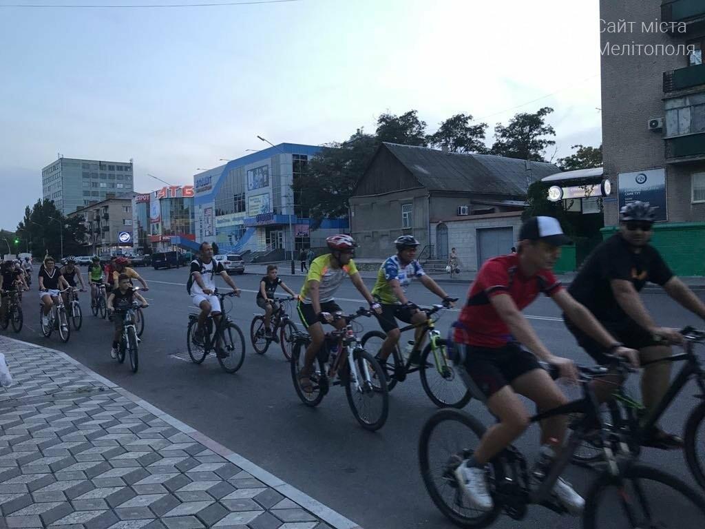 В Мелитополе состоялся необычный велопробег, фото-10